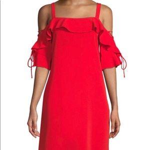 Laundry Poppy-colored dress